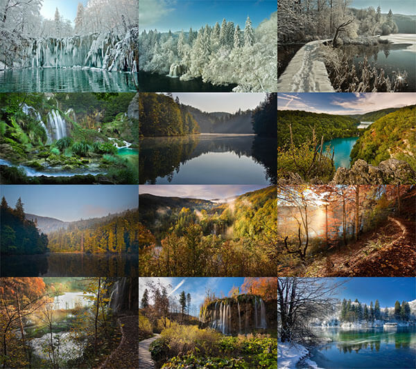 Plitvice Lakes by Rade Jug Screen shot