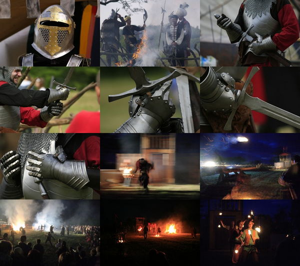 Medieval Tournament ePix Calendar Screen shot