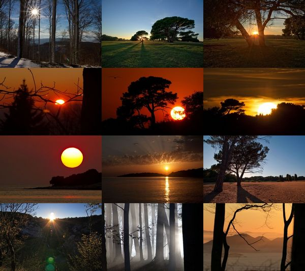 Sunsets I ePix Calendar Screen shot