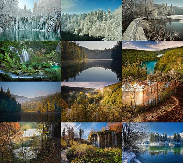 Plitvice Lakes Magic ePix Calendar