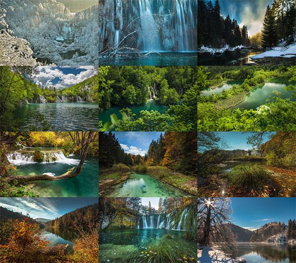 Plitvice Lakes Magic II ePix Calendar